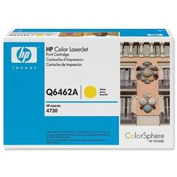 Hewlett Packard HP No. 644A Yellow Laser Toner Cartridge for Color LaserJet 4730 Ref Q6462A