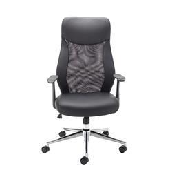 Jemini Mesh High Back Operator Black Chair Ref KF74501