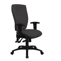 Cappela Deluxe Square High Back Posture Chair Black Ref ACT9/ADJ1/SL/IL
