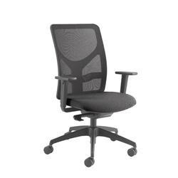 Arista Push Mech Mesh Task Black Chair Ref KF74644
