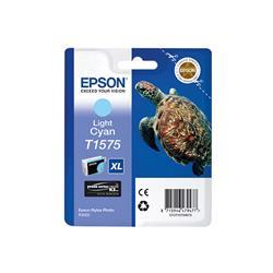 Epson T1575 Inkjet Cartridge Turtle Capacity 25.9ml Light Cyan Ref C13T15754012