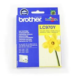 Brother LC-970Y Yellow Inkjet Cartridge Ref LC970Y