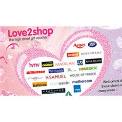 £10 Love2shop Voucher