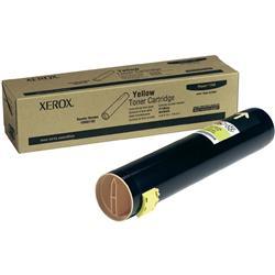 Xerox Laser Toner Cartridge High Yield Page Life 25000pp Yellow Ref 106R01162