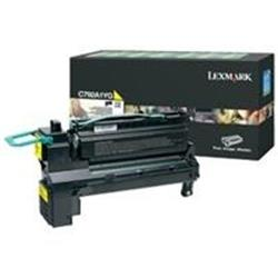 Lexmark (Yield 20000 Pages) Extra High Yield Print Cartridge (Yellow) For X792