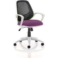 Atom Task Operator Purple Colour Seat With Arms Ref KCUP0064