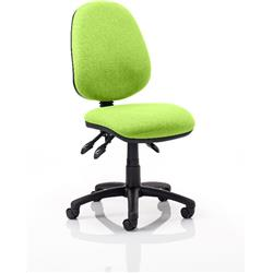Luna III Lever Task Operator Chair Swizzle Colour Without Arms Ref KCUP0354