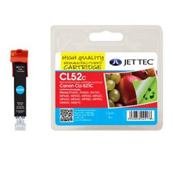 Jet Tec Canon Compatible CLI-521C (9ml) Remanufactured Inkjet Cartridge