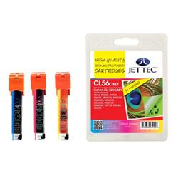 Jet Tec Canon Compatible CLI-526CMY (3x9ml) Remanufactured Inkjet Cartridge (Multipack - Cyan, Magenta, Yellow)