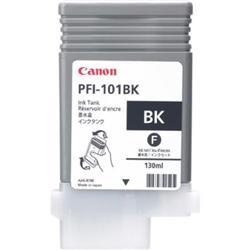 Canon PFI-101BK (Black) Ink Tank 130ml for iPF5000