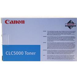 Canon CLC5000 (Cyan) Toner Cartridge (Yield 15,000 Pages)