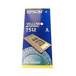 Epson T512 Yellow Pigment Ink Cartridge for Pro 10000CF