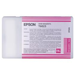 Epson T6023 Vivid Magenta Ink Cartridge for Stylus Pro 7800/9800