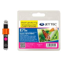 Jet Tec Epson Compatible T0713/T0893 (5.5ml) Remanufactured Inkjet Cartridge