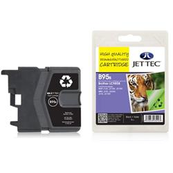 Jet Tec Brother Compatible LC985BK (18ml) Remanufactured Inkjet Cartridge