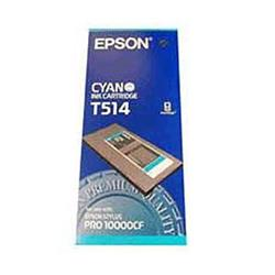 Epson T514 Cyan Pigment Ink Cartridge