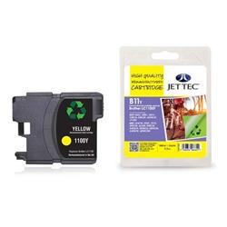 Jet Tec Brother Compatible LC1100Y (5.5ml) Remanufactured Inkjet Cartridge
