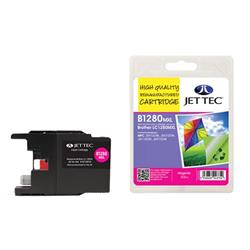 Jet Tec Brother Compatible LC1280MXL (13.5ml) Remanufactured Inkjet Cartridge