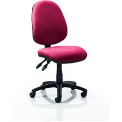 Luna II Task Operator Chair Chilli Colour Without Arms Ref KCUP0342