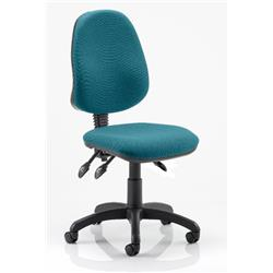 Eclipse III Task Operator Chair Kingfisher Colour Without Arms Ref KCUP0263