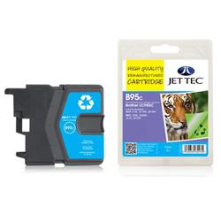 Jet Tec Brother Compatible LC985C (13ml) Remanufactured Inkjet Cartridge