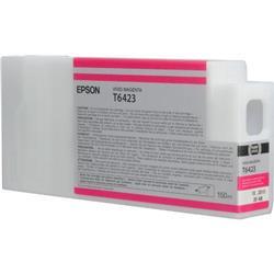 Epson T6423 UltraChrome K3 Ink Cartridge - 150ml (Vivid Magenta) for Epson Stylus Pro 7700/9700