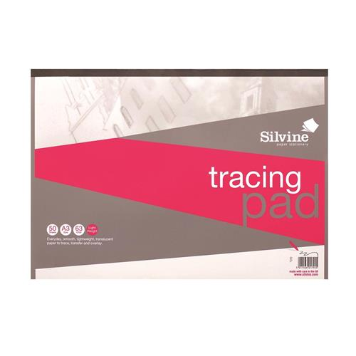 Buy silvine tracing pad acid free paper 63gsm 50 sheets a3 win a 500 secret escapes voucher - Secret escapes london office ...