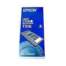 Epson T516 Light Cyan Pigment Ink Cartridge for Pro 10000CF