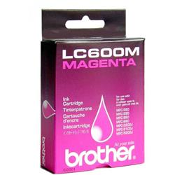 Brother Inkjet Cartridge Magenta  for MFC580 90 Ref LC600M