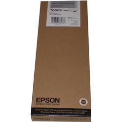 Epson T6069 Light Light Black Ink Cartridge (220ml) for Stylus Pro 4800/4880