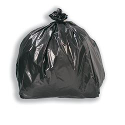 5 Star Facilities Compacta Bin Liners XL Heavy Duty 185L W555xD260xH1140mm 27 Micron Black [Pack 100]