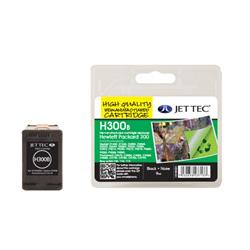 Jet Tec HP Compatible HP300/CC640EE (9ml) Remanufactured Inkjet Cartridge