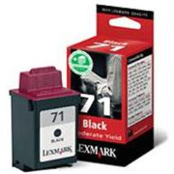 Lexmark Inkjet Cartridge Moderate Use Black Ref 0015M2971E