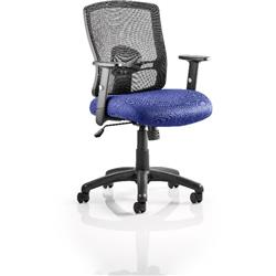 Portland Task Operator Chair Serene Colour Seat With Arms Ref KCUP0475
