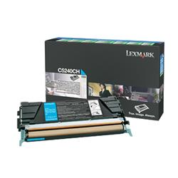 Lexmark Cyan High Yield Toner Cartridge for C524, C532, C534 (Yield 5000 pages)