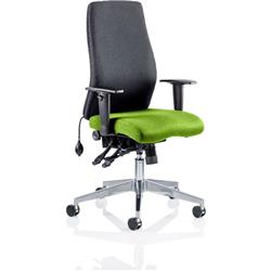 Onyx Posture Chair Without Zest Headrest Bespoke Colour Seat With Arms Ref KCUP0426