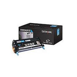 Lexmark Laser Toner Cartridge Page Life 4000pp Cyan [for X560] Ref X560A2CG