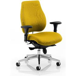 Chiro Plus Posture Chair Sunset Colour With Arms Ref KCUP0149