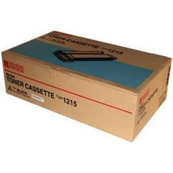 Ricoh 1215 Toner Cartridge (Black) for Ricoh FT-1008/FT-1208 Copier
