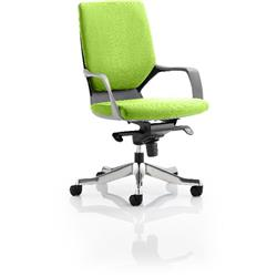 Xenon Executive Chair Black Medium Zest Back Swizzle Colour With Arms Ref KCUP0626