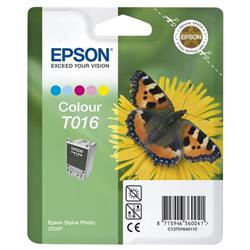 Epson Inkjet Cartridge Colour for Stylus Photo 2000P Ref TO16401