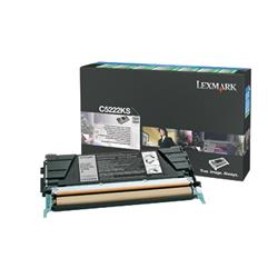 Lexmark Black Toner Cartridge (Yield 4,000 Pages) for C522, C524, C53x Printer