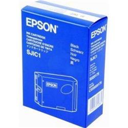Epson SJ1C1 Ink Cartridge (Black) 12 million Characters for TM-J8000