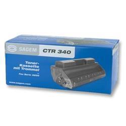 Sagem Laser Fax Toner Cartridge Black Ref CTR340