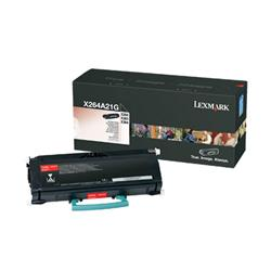 Lexmark Black Toner Cartridge (3,500 Pages Yield) for X264/X363/X364 Multifunction Mono Laser Printer