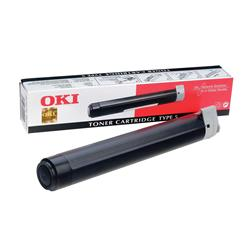 Oki Fax Laser Toner Black for Okifax 5700 5900 Ref 40815604