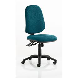 Eclipse XL Task Operator Chair Kingfisher Colour Without Arms Ref KCUP0247
