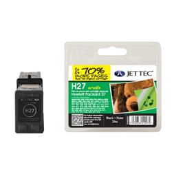 Jet Tec HP Compatible HP27 (24ml) Remanufactured Inkjet Cartridge