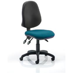 Eclipse III Task Operator Chair Kingfisher Colour Seat Without Arms Ref KCUP0271