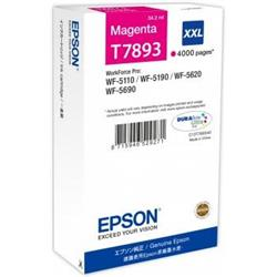 Epson T7893 XXL Magenta Ink Cartridge (65.1 ml) for WorkForce Pro WF-5110DW/WF-5690DWF/WF-5190DW/WF-5620DWF Inkjet Printers